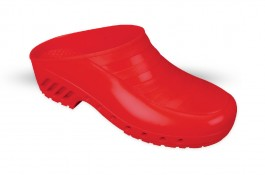 Surgical Clogs SO1-LUXOR - red