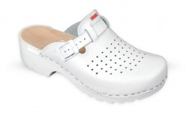 Wooden Clogs JULEX 154 white