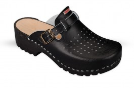 Wooden Clogs JULEX 154 black