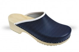 Women's Wooden clogs Anatomico - CD5 blue MK