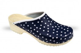 Women's Wooden clogs Anatomico - CD5 blue K