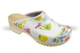 Women's Wooden clogs Anatomico - CD5 Big Flower