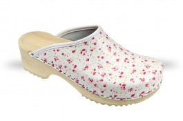 Women's Wooden clogs Anatomico - CD5 Rose